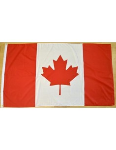 Bandera Canadá Poliéster