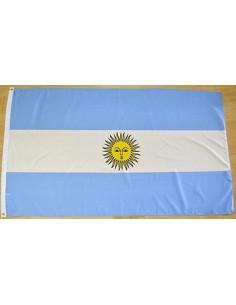 Bandera Argentina con Escudo Poliéster