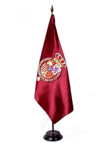 Bandera Real de Felipe VI Bordada a Mano