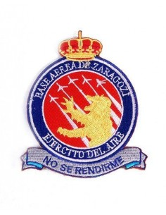 Embroidered patch Zaragoza Air Base
