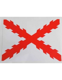 Cross of Burgundy Sticker