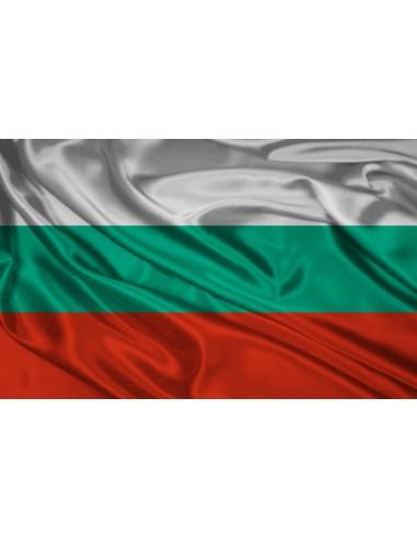Bandera República de Bulgaria