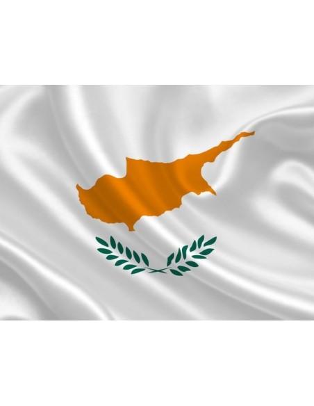 Bandera República de Chipre