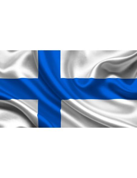 Bandera República de Finlandia