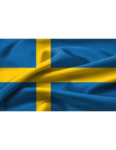 Bandera Reino de Suecia
