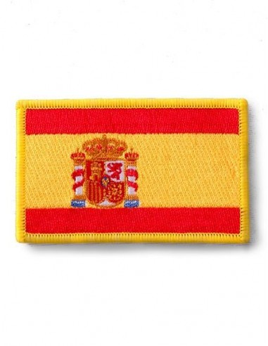 Spain flag embroidered patch