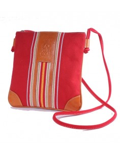 Spanish Flag Crossbody Bag - Red
