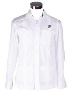 Camisa Cubana Guayabera - Blanco