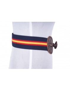 Cinturón Elástico Picao Bandera España Azul