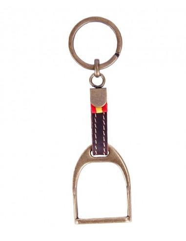 Bronze Stirrup Key Ring