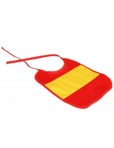 Spanish Flag Bib