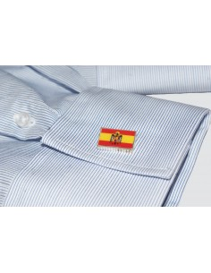 San Juan Eagle Spanish Flag Cufflinks