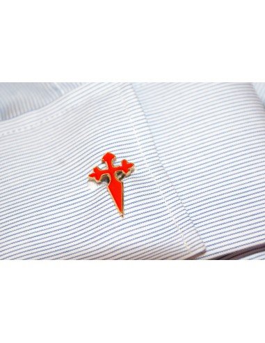 Santiago's cross cufflinks