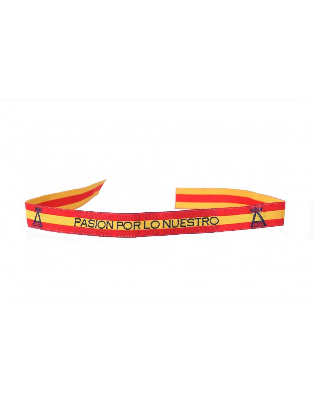 5d21b78af305 Pulsera Bandera de España Pasión por lo Nuestro