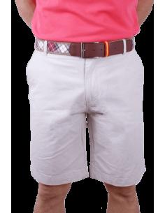 Pantalón Corto Filafiel en Crema