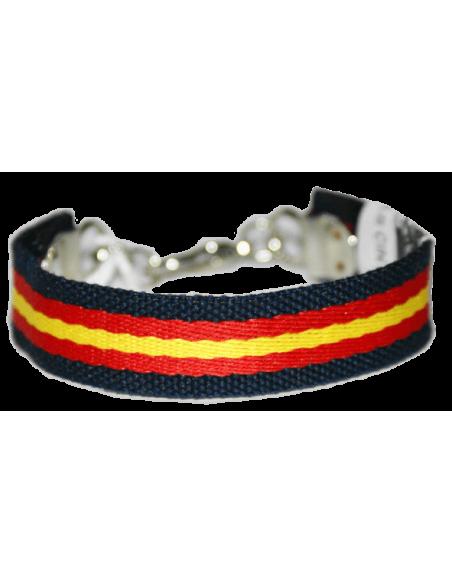 Spanish flag bracelet