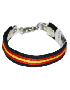 Spanish Flag Details Thread Bracelet