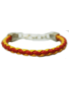 Spanish Flag Braided Bracelet