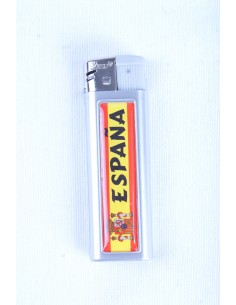Cigarette Lighter Spanish flag with shield