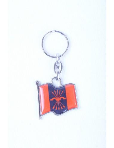 Spanish Falange Flag Key Ring