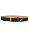 Arenal de Sevilla Children Leather Belt - Navy Blue