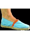 Esparto Shoe Grass with Spanish Flag - Celeste