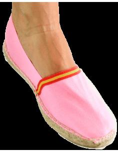 Spanish flag shoe- pink