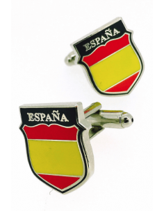 Spanish Blue Division Cufflinks