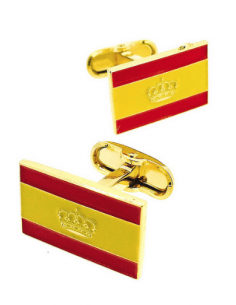 Nautical Spanish Flag Cufflinks
