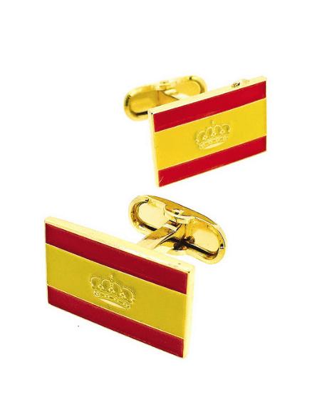 Cufflinks Nautical Flag Spain