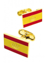 Nautical Spanish Flag Cufflinks