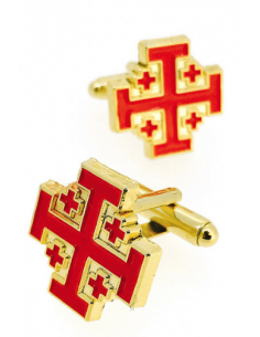 Cufflinks of the Order of the Holy Sepulchre of Jerusalem