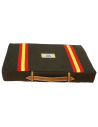 Bullfighting Pad With Spanish Flag Details - Brown