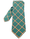 Spanish Flag Checked Tie - Green