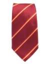Tie Spain Flag Wide - Bordeaux