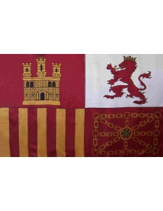 Bandera Estandarte España (Tajamar o Torrotito)