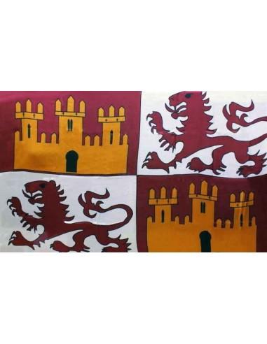 Bandera Reino Castilla y Leon S.XIII