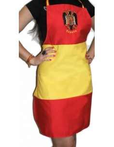 Spanish Flag Eagle Apron