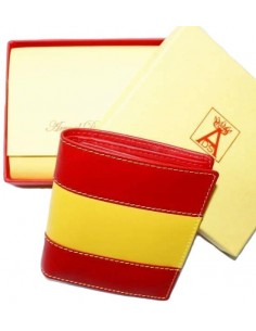 Wallet Flag Spain with Pocket