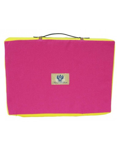 Bullfight Pad Pink and Yellow