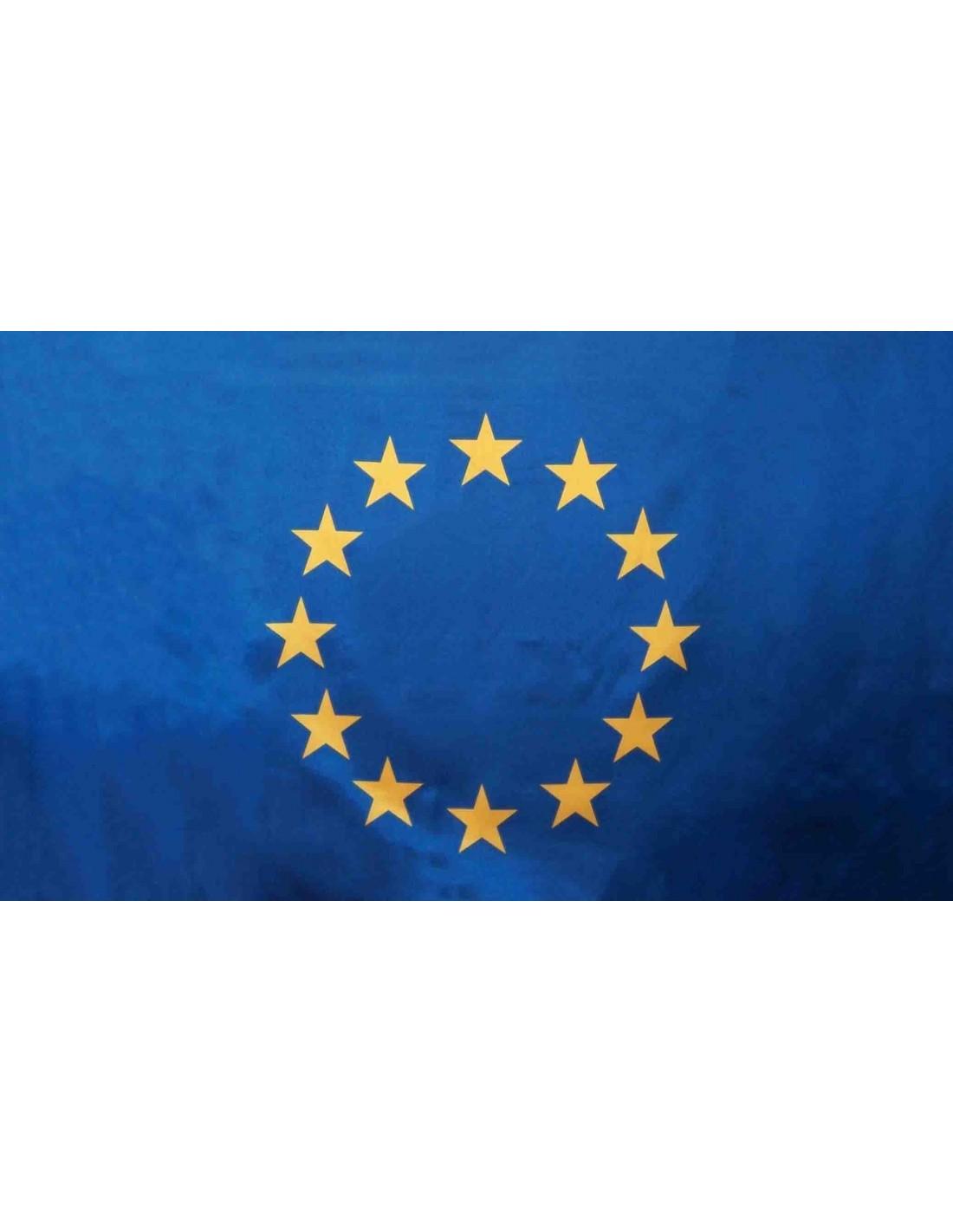 ddc33619ae Bandera de la Unión Europea UE Estándar en Raso de Alta Calidad
