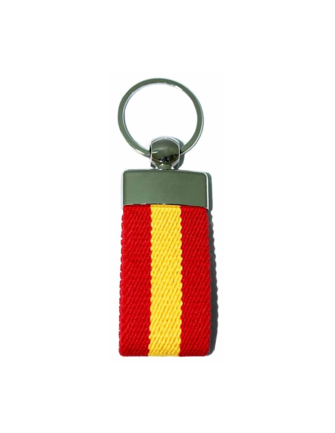 Keychain Elastic Spanish Flag - Arenal de Sevilla ed2e8ea231