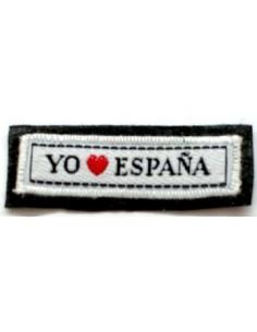 Parche leyenda Yo Amo España