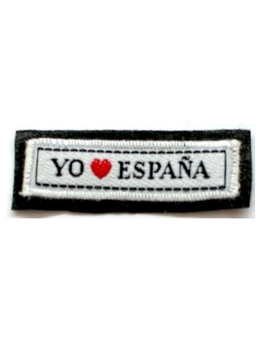 I LOVE SPAIN Patch