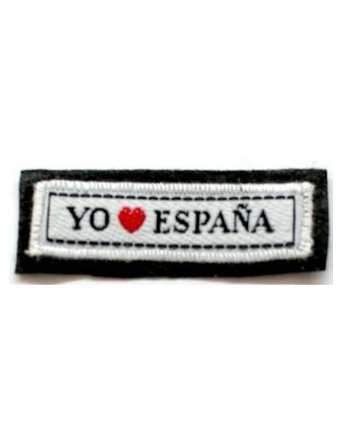 Parche Termo-Adhesivo Yo Amo España