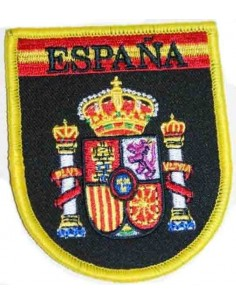 Embroidered Patch Spain Legend Black