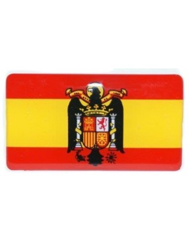 San Juan Eagle Spanish Flag Sticker