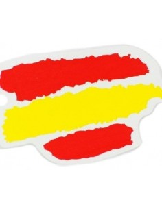 Spain flag sticker spots