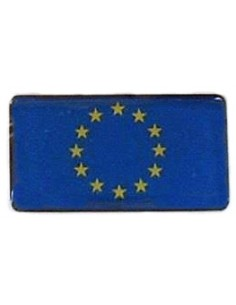 European Community Flag Embossed Sticker