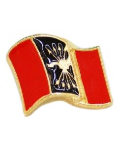 Glazed Phalange Flag Pin